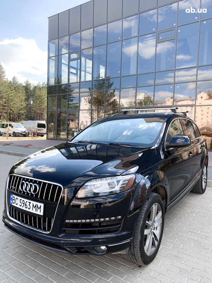 Audi Q7 2012 черный - фото 1