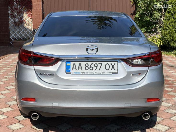 Mazda 6 2015 серебристый - фото 4