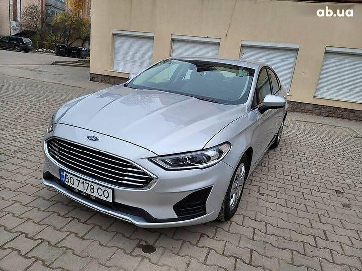 Ford Fusion 2019 серый - фото 1