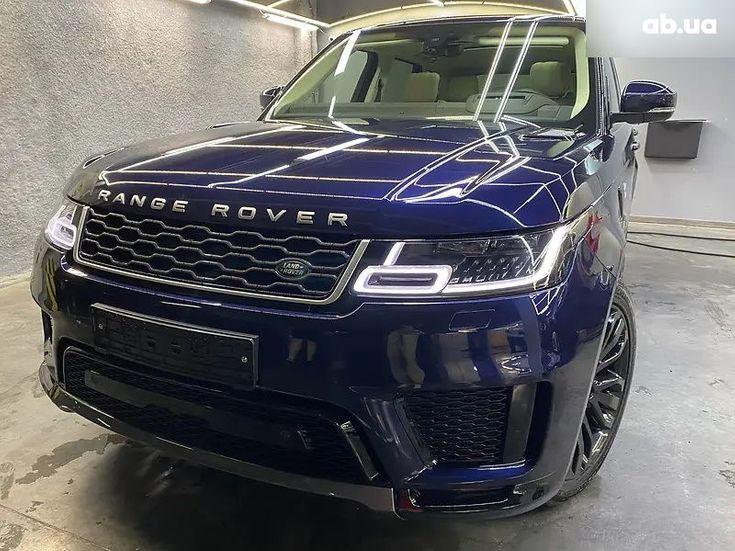 Land Rover Range Rover Sport 2020 синий - фото 3