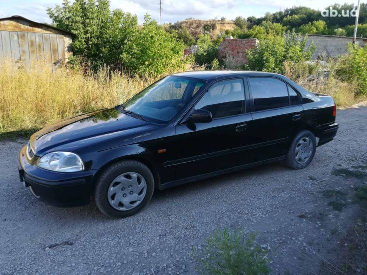 Honda Civic 1997 черный - фото 1