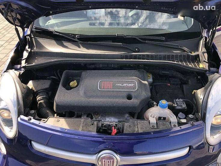 Fiat 500L 2015 синий - фото 6