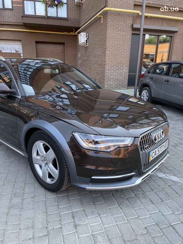 Audi a6 allroad 2013 коричневый - фото 13