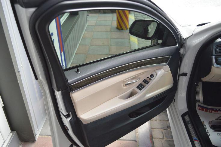 BMW 5 серия 2013 белый - фото 6
