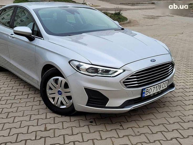 Ford Fusion 2019 серый - фото 15