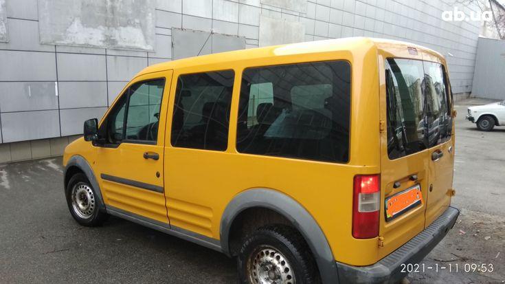 Ford Transit Connect 2006 желтый - фото 3