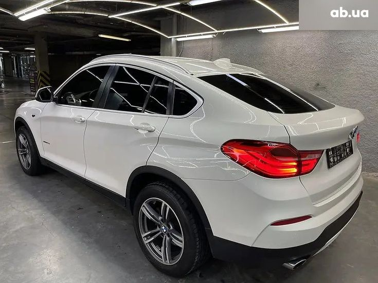 BMW X4 2016 белый - фото 11