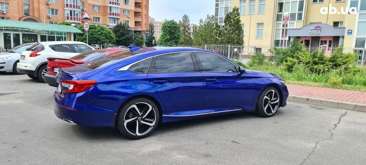 Honda Accord 2019 синий - фото 7