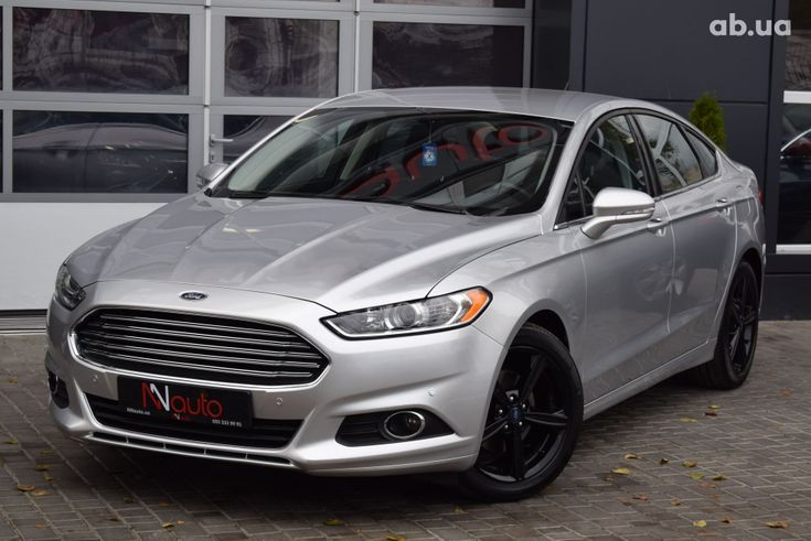 Ford Fusion 2017 серебристый - фото 1