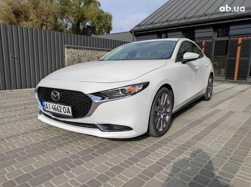 Mazda 3 2019 белый - фото 1