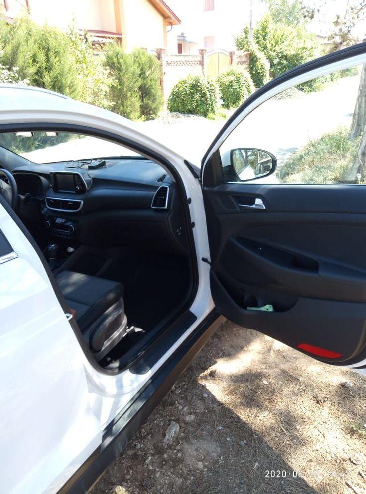 Hyundai Tucson 2019 белый - фото 4