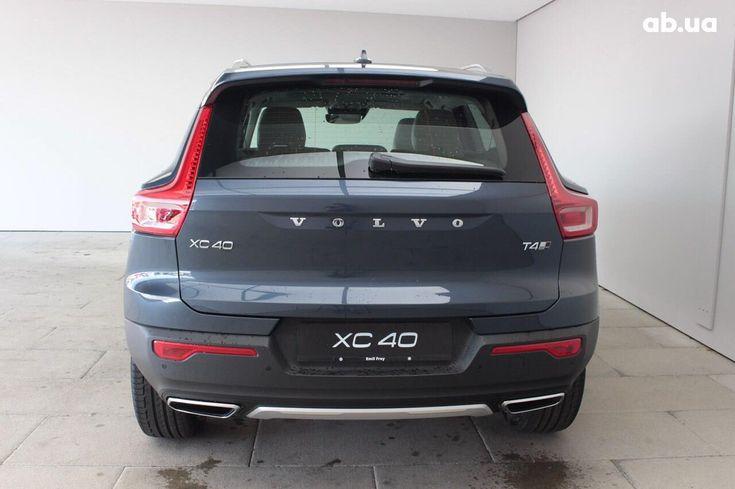 Volvo XC40 2019 серый - фото 3