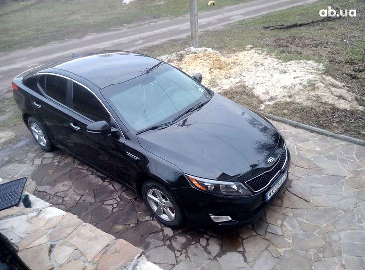 Kia Optima 2015 черный - фото 2