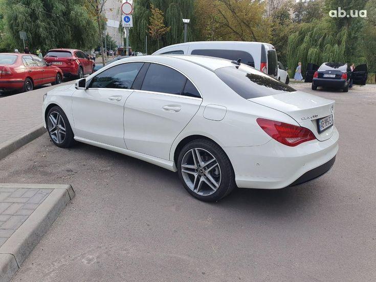 Mercedes-Benz CLA-Класс 2014 белый - фото 5
