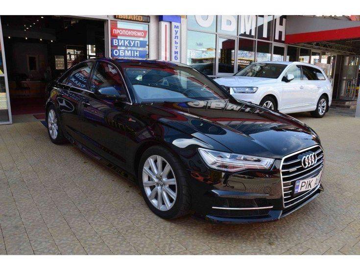 Audi A6 2016 черный - фото 2