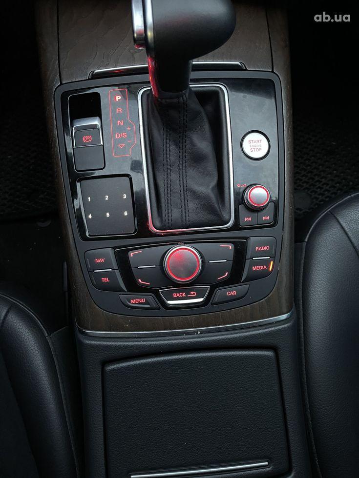 Audi A6 2013 черный - фото 13