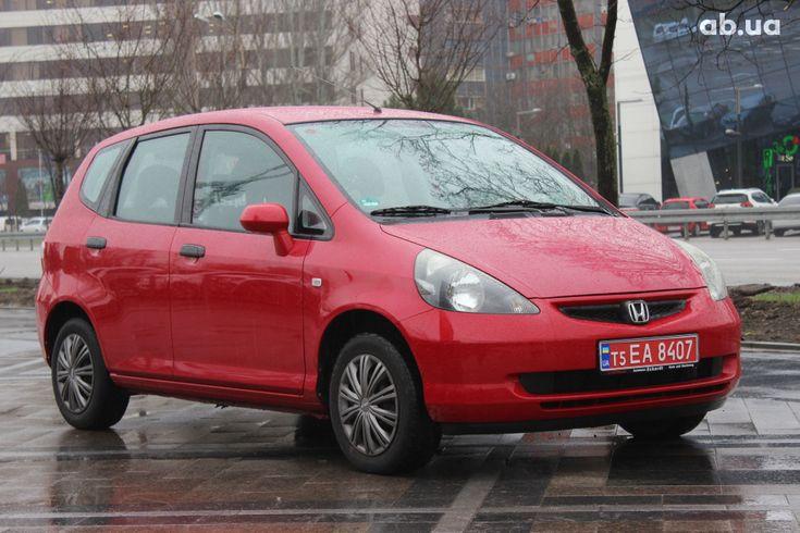 Honda Jazz 2004 красный - фото 1