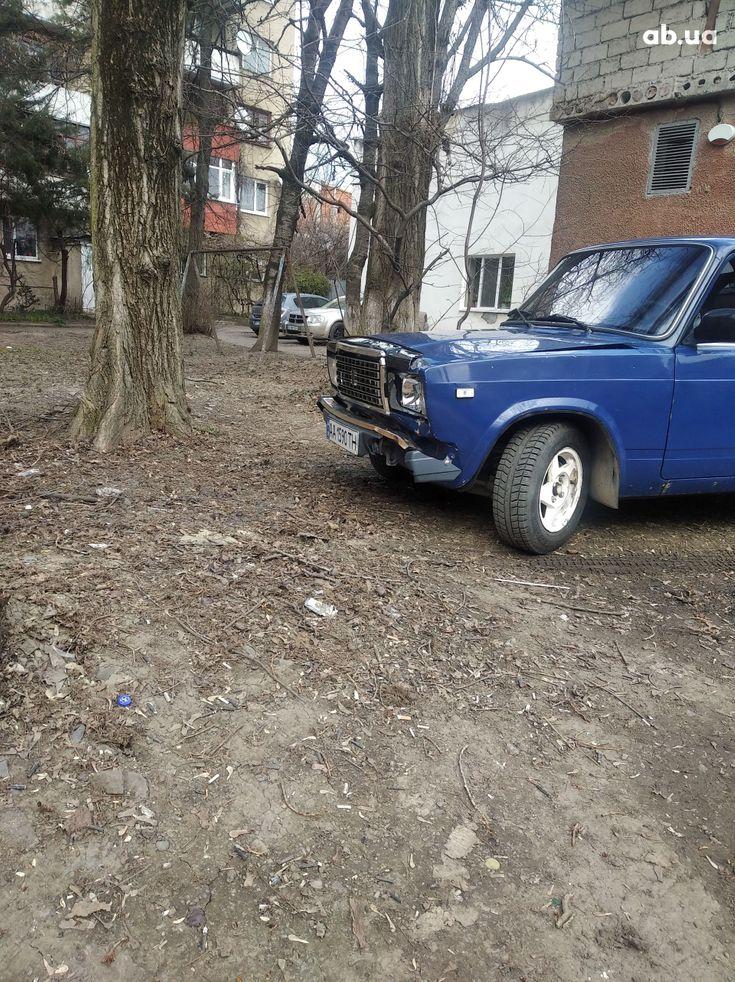 ВАЗ 2107 2005 синий - фото 6