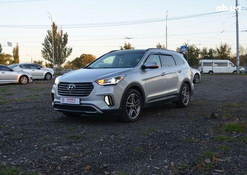 Hyundai Santa Fe 2017 серый - фото 3