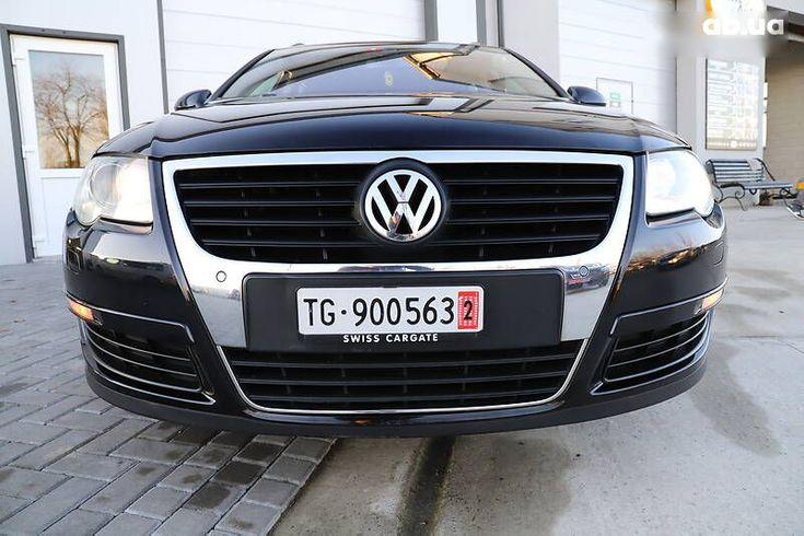 Volkswagen passat b6 2008 черный - фото 3