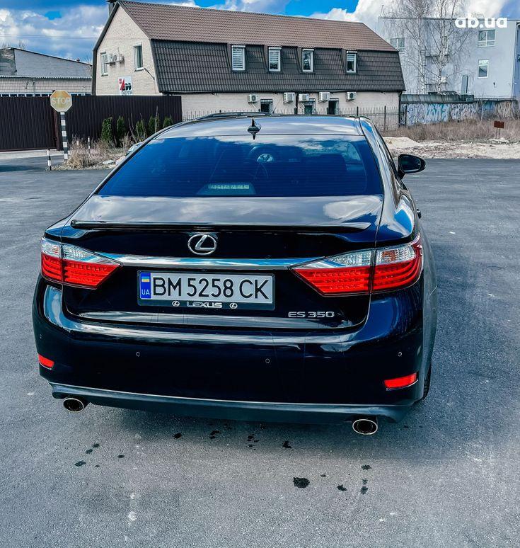 Lexus es 350 2013 черный - фото 3