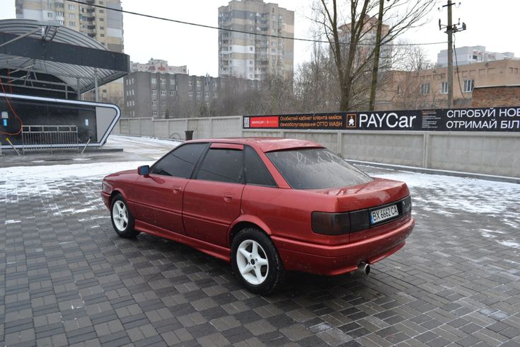 Audi 80 1987 - фото 11