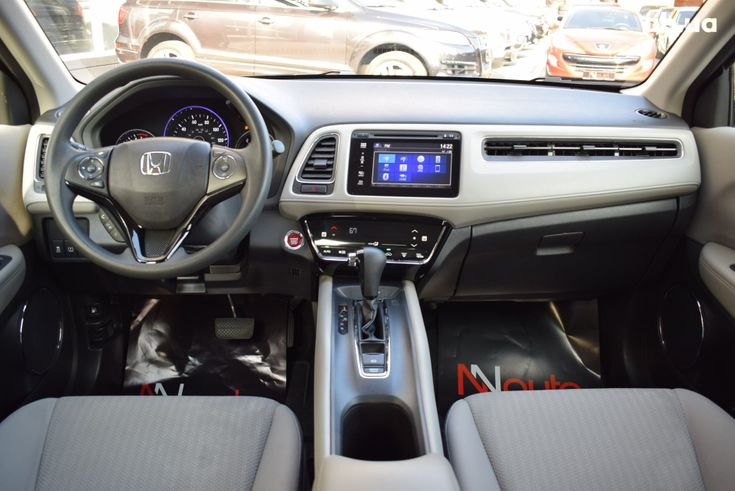 Honda HR-V 2018 синий - фото 4