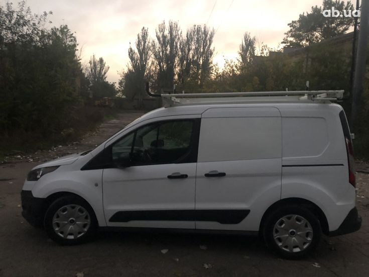 Ford Transit Connect 2015 белый - фото 1