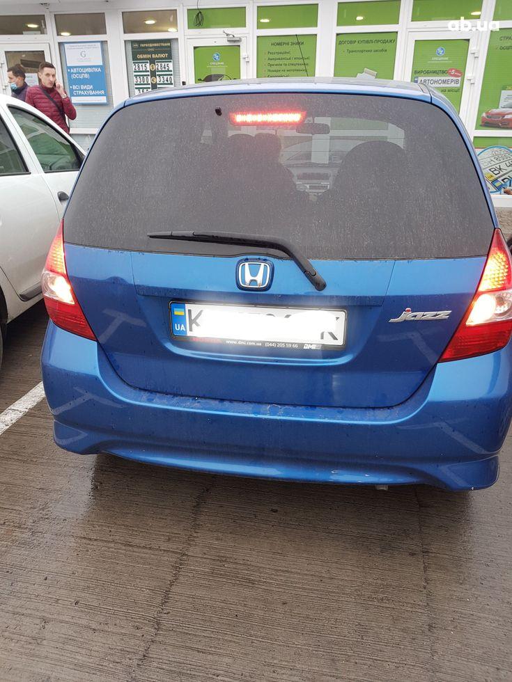 Honda Jazz 2006 синий - фото 4