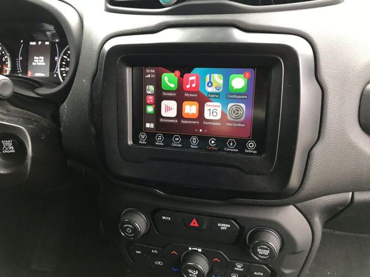 Jeep Renegade 2018 черный - фото 12