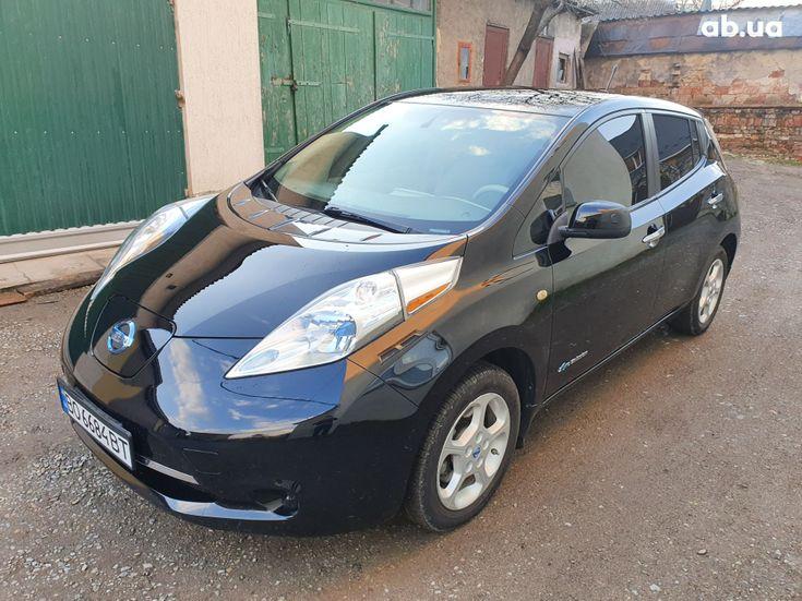 Nissan Leaf 2014 черный - фото 5