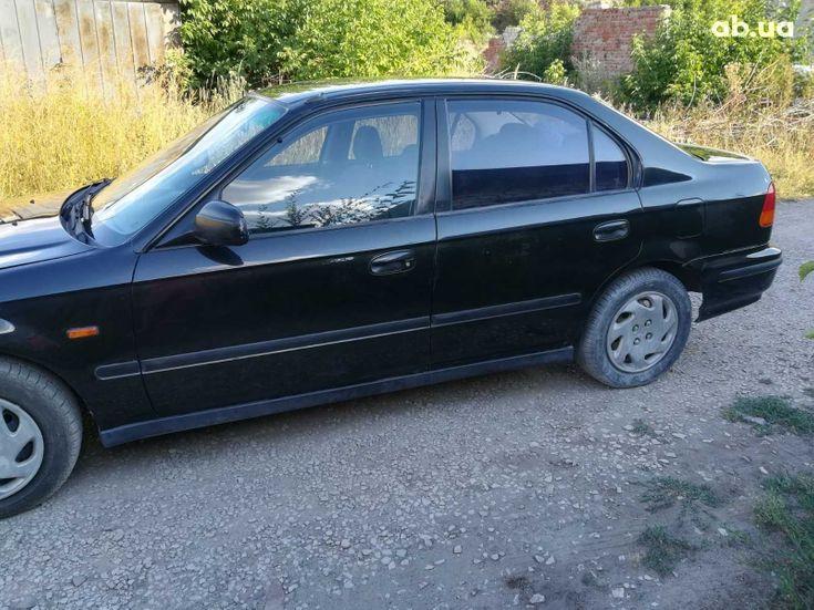 Honda Civic 1997 черный - фото 5