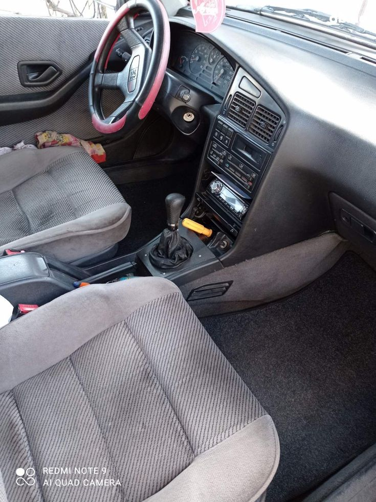 Peugeot 405 1993 вишневый - фото 3