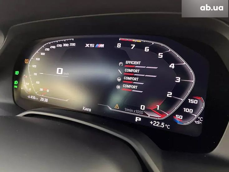 BMW X5 M 2020 синий - фото 7