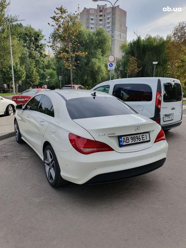 Mercedes-Benz CLA-Класс 2014 белый - фото 6