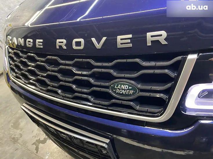 Land Rover Range Rover Sport 2020 синий - фото 8