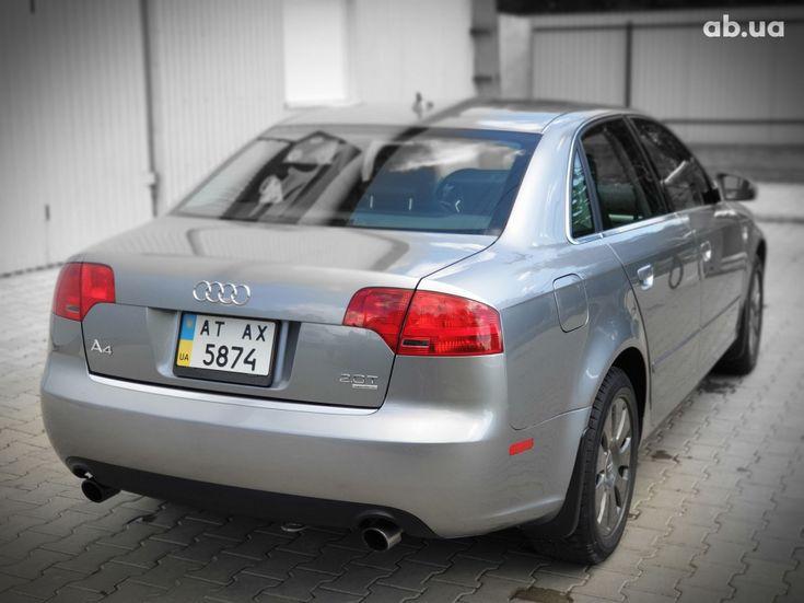 Audi A4 2007 серый - фото 6