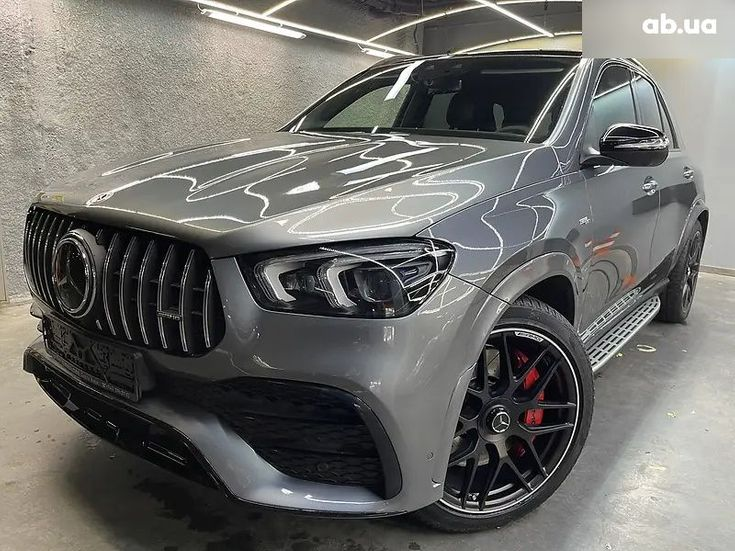 Mercedes-Benz GLE-Класс 2020 серый - фото 3