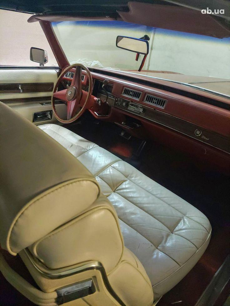 Cadillac Eldorado 1979 вишневый - фото 5