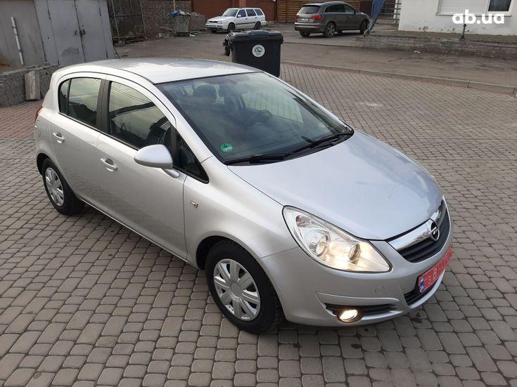 Opel Corsa 2008 серый - фото 2