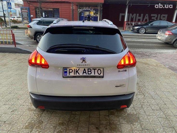 Peugeot 2008 2014 белый - фото 5