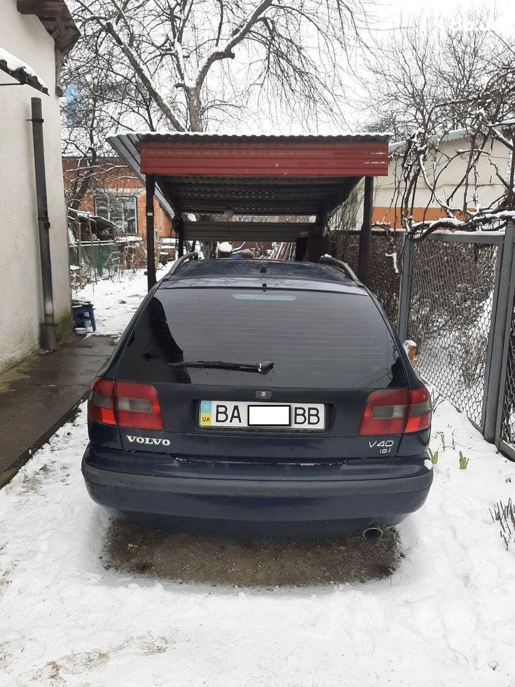 Volvo V40 1998 синий - фото 8