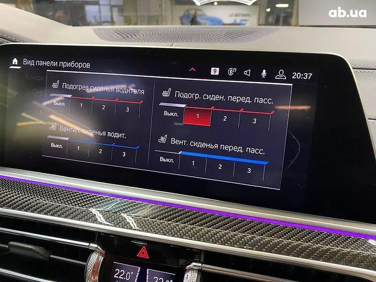 BMW X5 M 2020 синий - фото 10