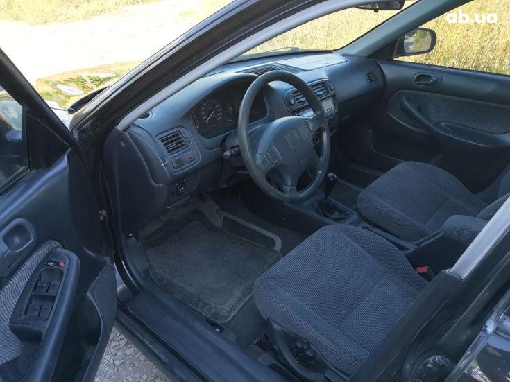 Honda Civic 1997 черный - фото 3