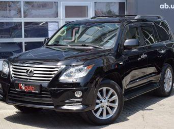 Автомобиль бензин Лексус LX 2011 года б/у - купить на Автобазаре