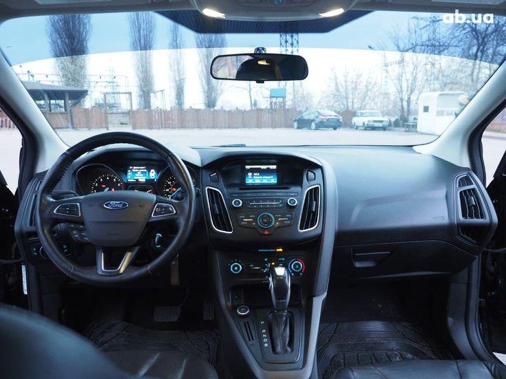 Ford Focus 2015 черный - фото 11