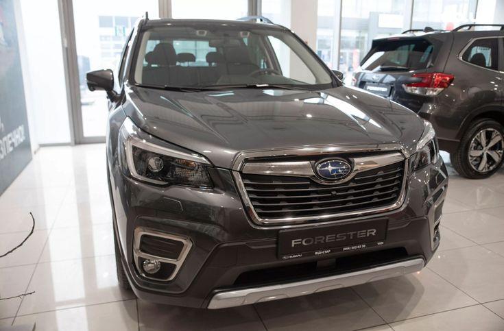 Subaru Forester 2020 серый - фото 2
