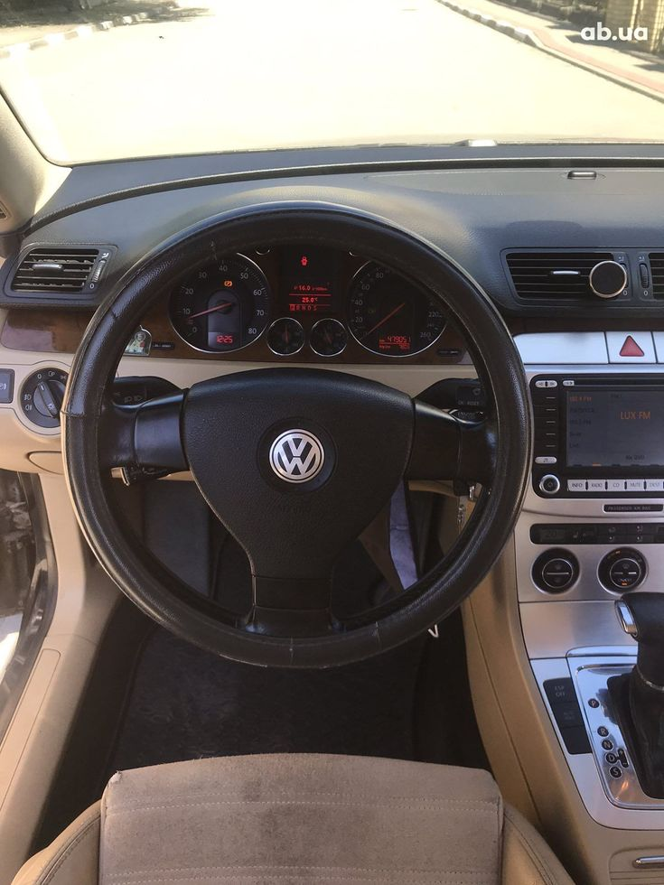 Volkswagen Passat 2007 черный - фото 4