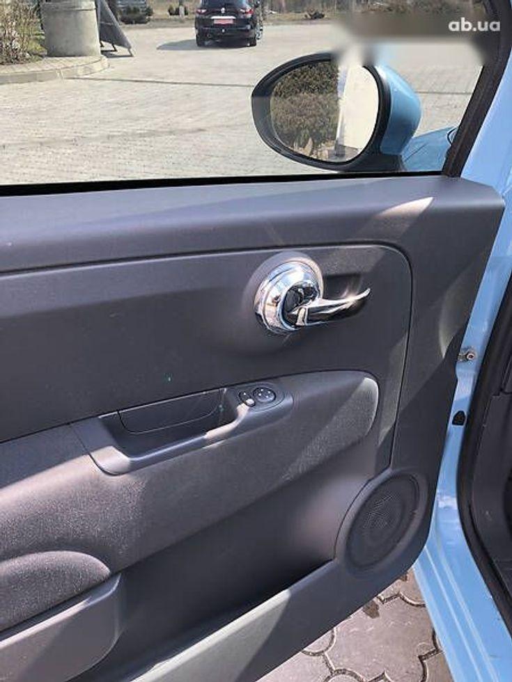 Fiat 500 2011 синий - фото 3