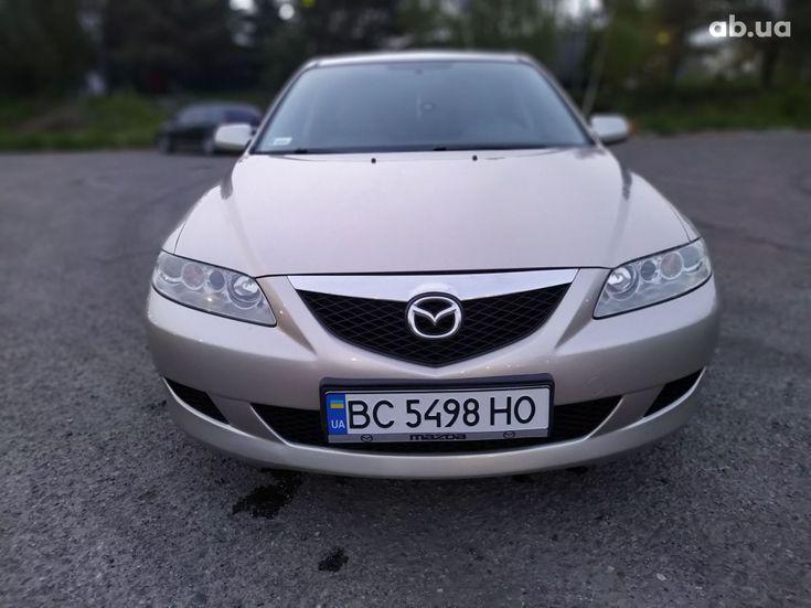 Mazda 6 2003 золотистый - фото 6